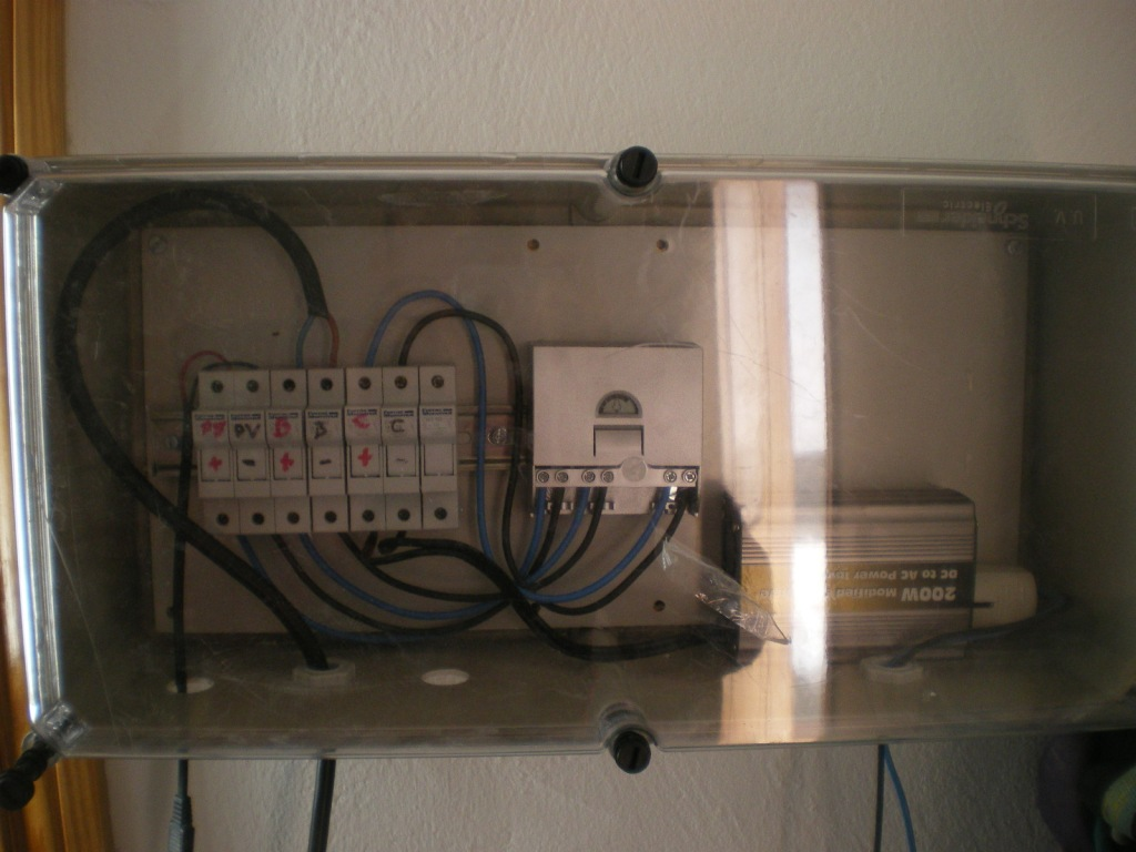 Cuadro eléctrico sistema PV