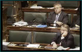 eurodiputados durmiendo