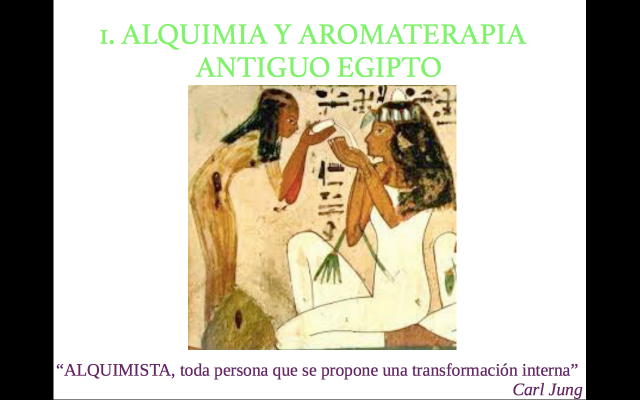 1. Alquimia y Aromaterapia