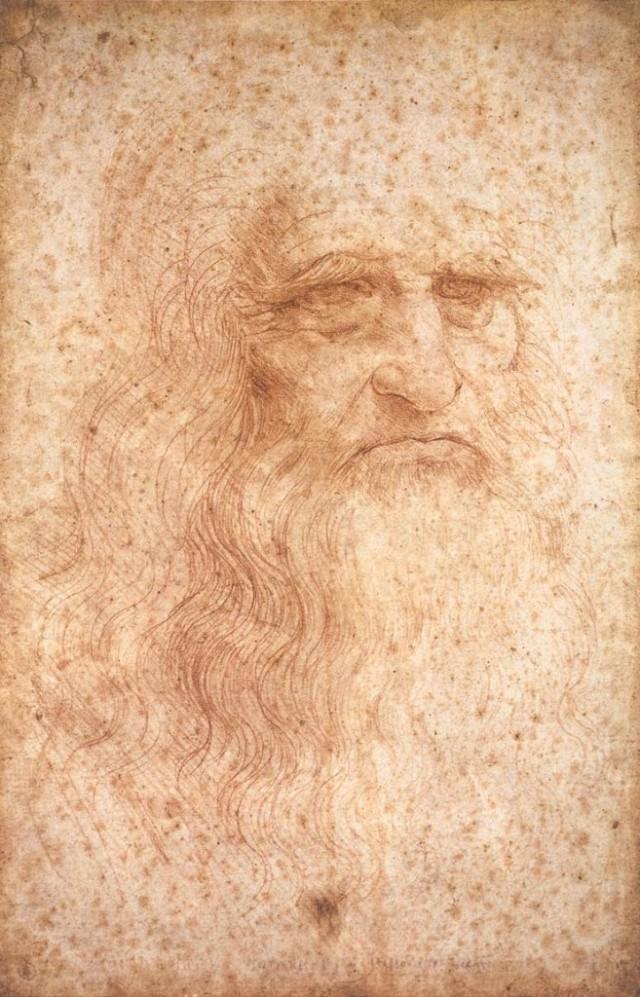 8. Retrato de Leonardo