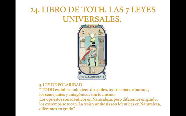 Libro de Toth 24