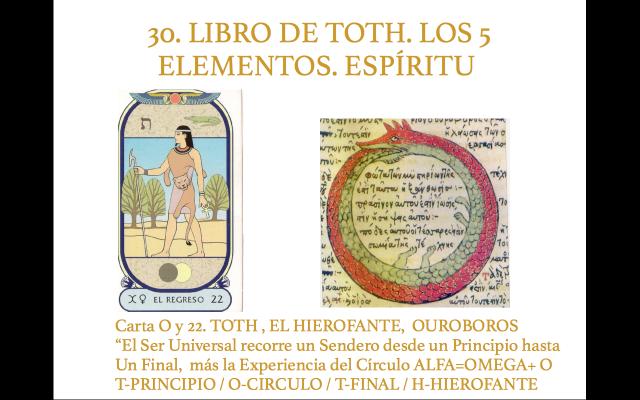 Libro de Toth 30