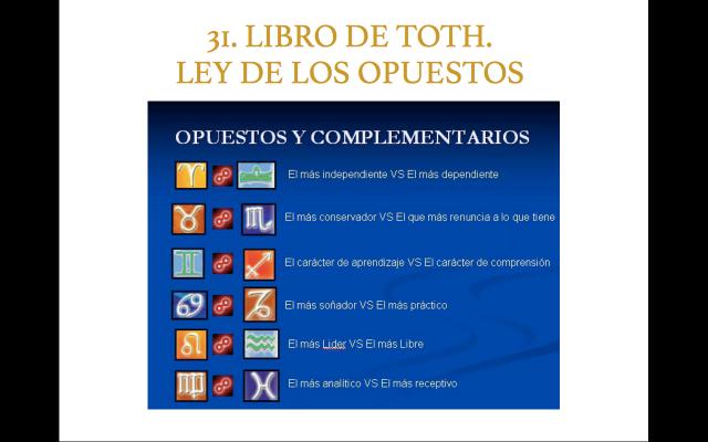 Libro de Toth 31