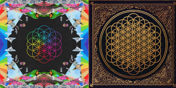 Flor de la vida Coldplay