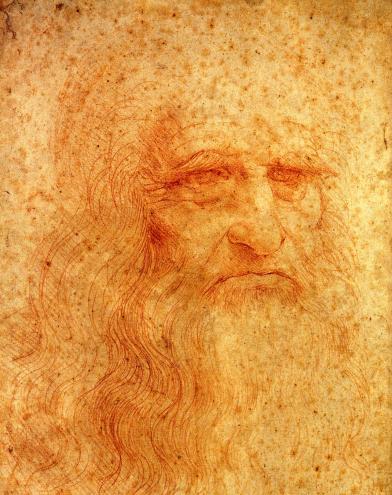 3. Retrato de Leonardo