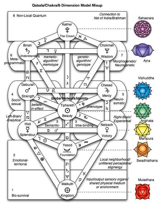 Arbol de la vida y chakras
